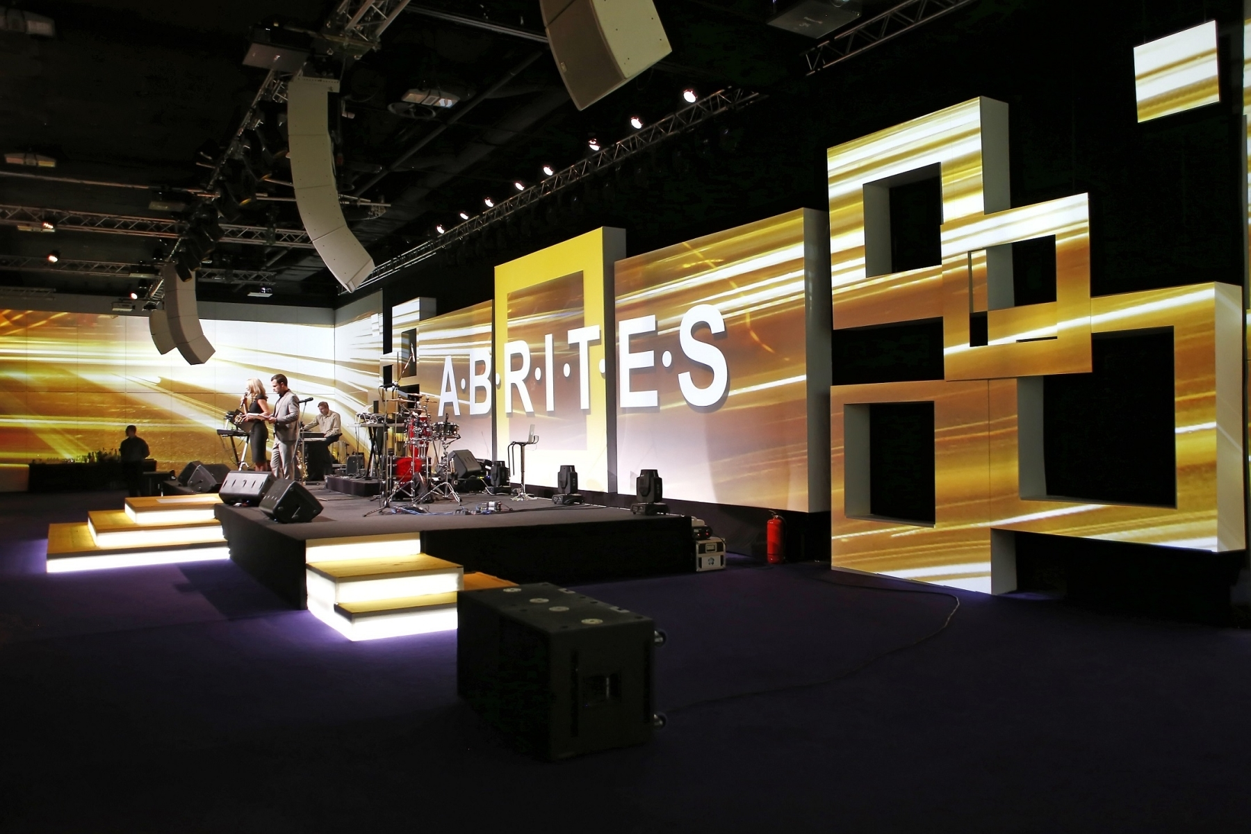 Corporate set design